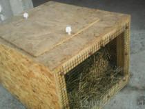 Cușcă transport iepuri - animale