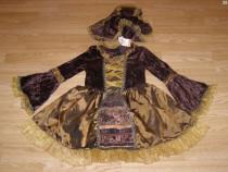 Costum carnaval serbare rochie medievala domnita 6-7 ani