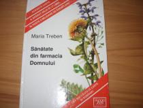 Maria Treben - Sanatate din farmacia Domnului ( cartonata )*