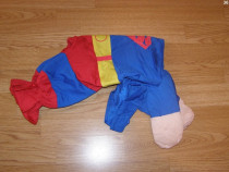 Costum carnaval serbare superman pentru catei