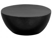 Măsuță de cafea, negru,aluminiu bătut  (246510)