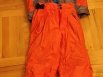 Geaca si pantaloni de ski - costum; copil 8 ani 125-132 cm