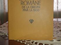 Dictionarul Literaturi Romane De La Origini Si Pana La 1900