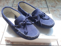 Pantofi piele intoarsa Calvin Klein Jeans, masura 30