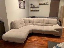 Canapea coltar stofa