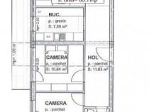 Apartament cu 3 camere+bucatarie separata, Zona Subcetate