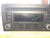 Radio Cd si Panou comenzi climatronic Audi A3 an 2008