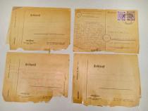 A936-4 Scrisori militare soldat german anii 1945-46.