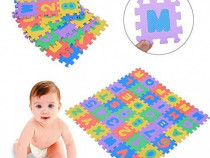 Covor puzzle educativ pentru copii, din spuma EVA