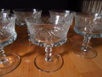 Set 6 cupe din cristal