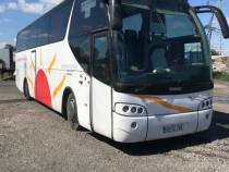 Autocar Scania si autobuz Volvo la pret de limuzina