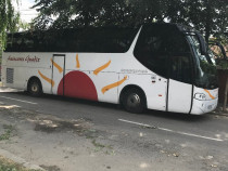 Autocar SCANIA si autobuz VOLVO,individual sau la pachet