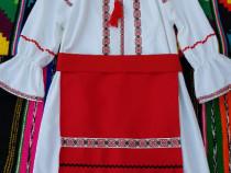 Costum popular pentru fetite - 4 piese