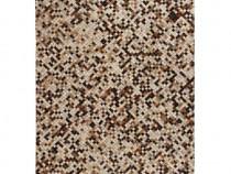 Covor piele naturală, din petice, 160x230cm, 132598