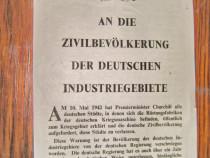B86- I-Manifest Chrurchil pt. civilii germani din marina...