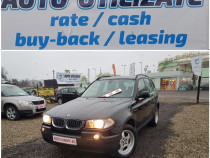 Bmw x3 euro 4 an 2006 4x4 diesel 150 cp cash rate leasing