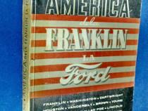 2250-I-Carte veche I.Frank-America-Biografii-Franklin-Ford.