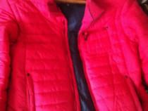 Geaca fâș roșie