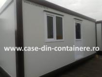 Container 6MX3M cu grup sanitar