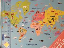 Puzzle Mudpuppy Our World, 25 piese