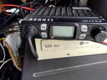 Statie emisie recepție AVANTI cu antenă