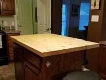 Blat 2200 x 800 x 43 mm din lemn masiv de pin