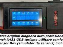 Tester diagnoza auto Launch X431 turisme utilitare camioane