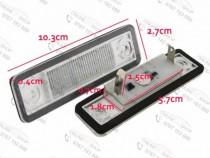 Set lampi numar LED Astra G Astra F, Omega A/B Vectra B , Za