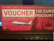 Voucher blue air 100 de euro