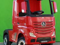 Camion electric pentru copii Mercedes Actros 4x4 24V 7Ah RED