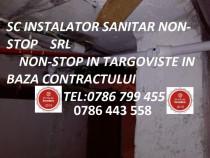 Instalator sanitar Targoviste, Dambovita
