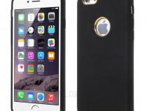 Husa Telefon Silicon Apple iPhone 6+ 6s+ Black Ultra Thin