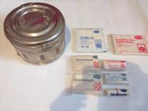 Cutie Medicala pt Sterilizat-Vintage+Comprese Medicale