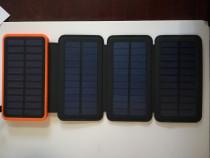 Power BANK 4 panouri solare 10.000 mA - nou