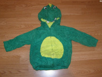 Costum carnaval serbare animal crocodil 2-3 ani