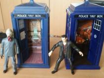 Figurine DR WHO ,cabina telefonica