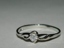 G67,inel argint 925,nou/marcat, ideal logodna, zirconiu alb