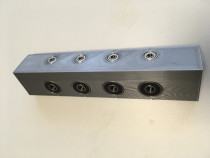 Sablon mobila plastic dur forma L pentru ericsoane 4/7mm