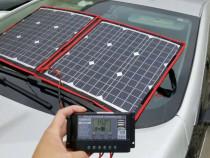 Kit panou fotovoltaic portabil 12V 80W