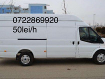 Transport marfa / mutări / debarasări / duba 3,5 t