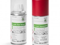 Set Spray Vopsea + Lac Oe Skoda Red Velvet F3P/K1K1