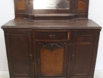 Comoda Stil Florentin; Bufet lemn masiv cu ornamente