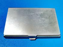 1778- PortVizit in metal argintiu.