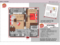 Apartament 2 camere, Bucuresti - Sector 4, Mufty Residence