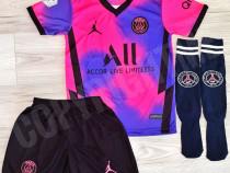 Compleu echipament fotbal copii JORDAN PSG  MESSI NEYMAR