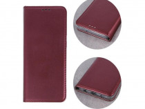 Husa Telefon Flip Book Samsung Galaxy A51 a515 Bordo