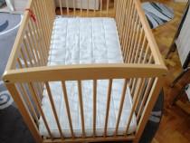 Pătuț de lemn pentru Copii (IKEA)