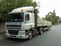Efectuam transporturi cu trailer sau semiremorca 13,5ml