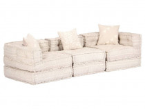 Canapea extensibilă modulară cu 3 locuri, 249397