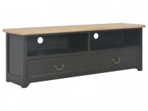 Comodă TV, negru, 120 x 40 x 30 cm, lemn 249908